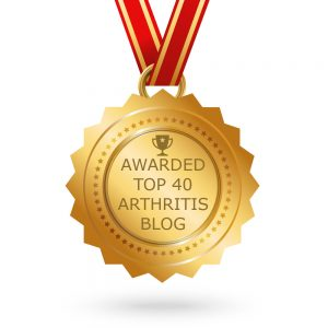 Top 40 RA and Chronic Illness Blog Award