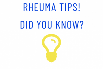 Rheuma Tips! Did you know? #13